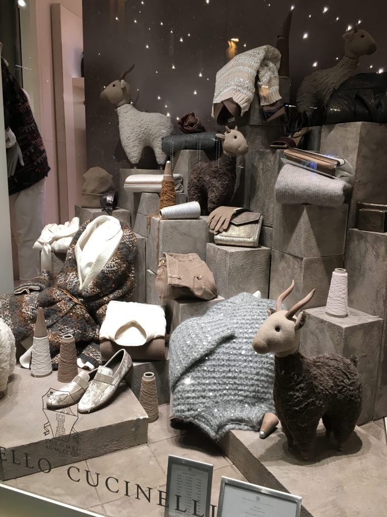 Brunello Cucinelli store window